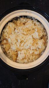 土鍋タケノコご飯